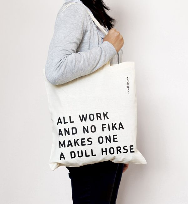 Fika - Print design by Designers Anonymous