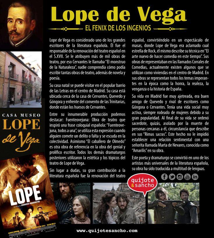 El escritor Lope de Vega.
