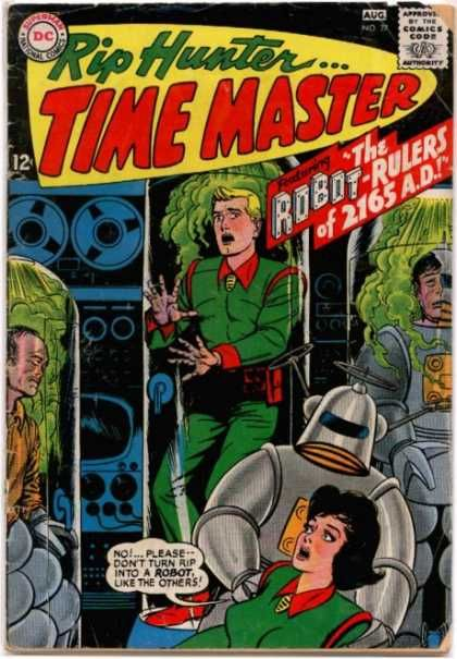 RIP HUNTER TIME MASTER 27 SILVER AGE DC COMICS