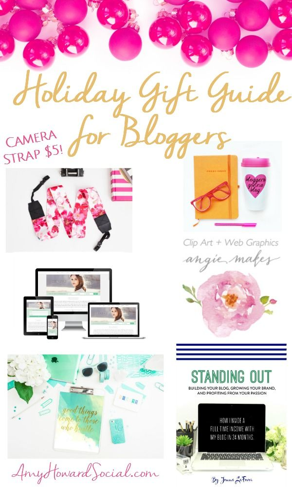 Holiday Gift Guide for Bloggers: Is a blogger on your Christmas list? Here are…