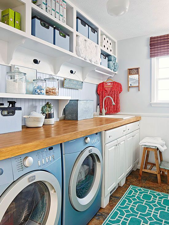 Love this #laundry room...