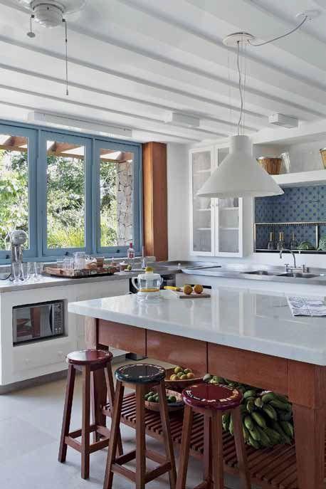 77 besten Cocina Bilder auf Pinterest Fliesen, Einbauküchen und - fliesenspiegel küche höhe