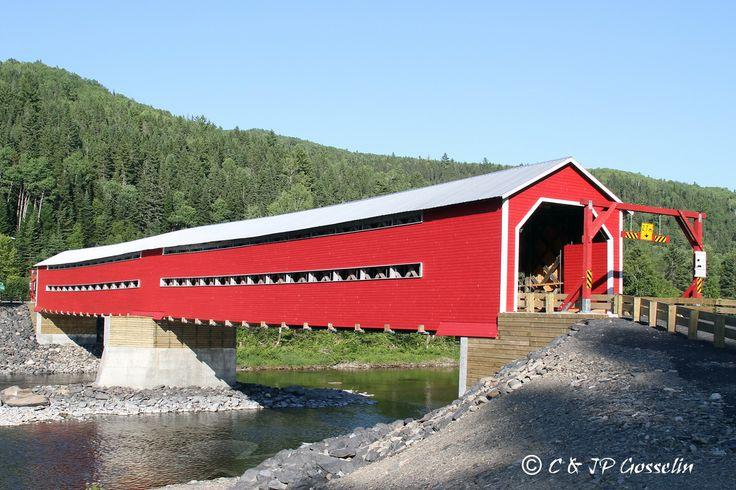 pont couvert au Quebec
