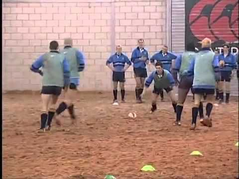 Rugby Coaching Offload - YouTube