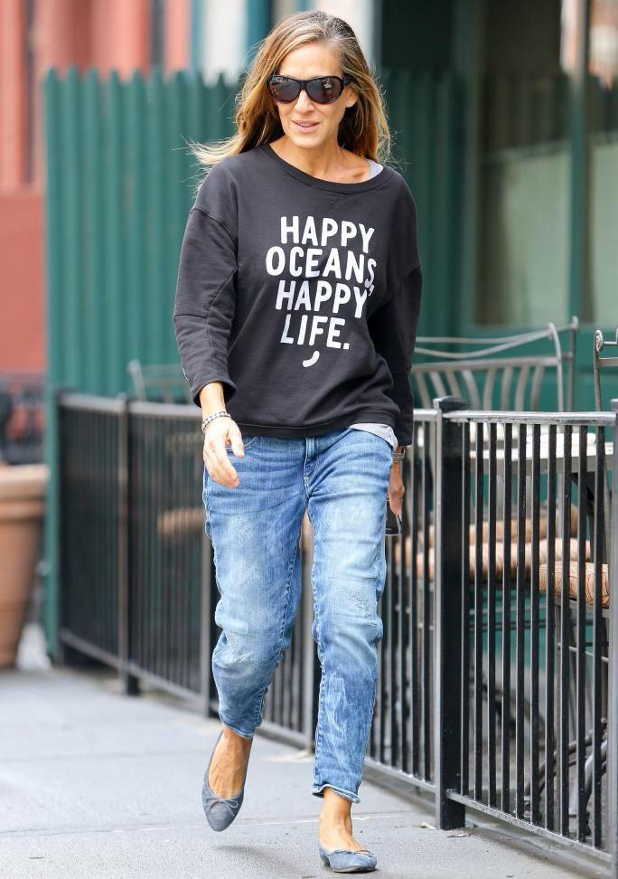 Look casual camisetas con mensajes muy In