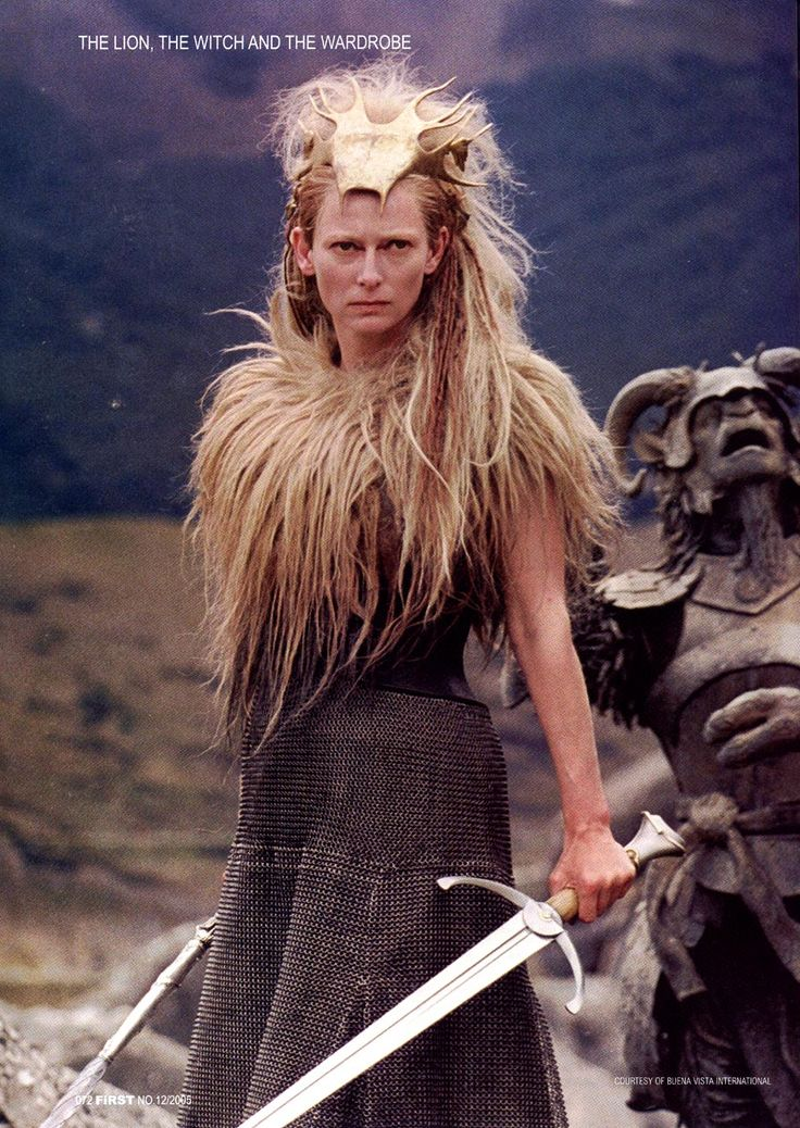 tilda swinton as jadis the white witch in the chronicles of narnia the lion - Halloween Movies About Witches