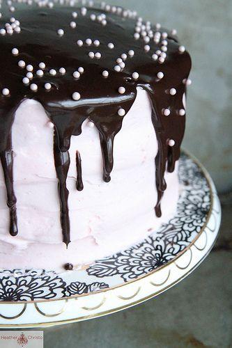Red Velvet Strawberry Chocolate Cake Recipe