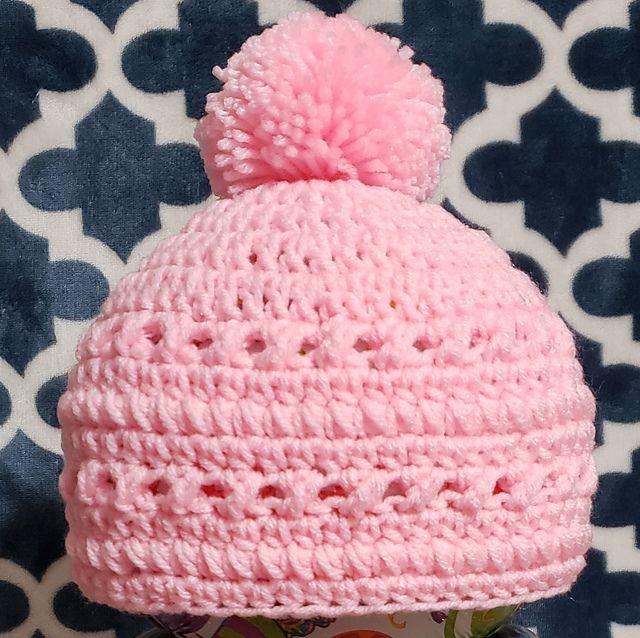 Ravelry Zoey S Hugs And Kisses Beanie Pattern By Bb Crochet Crochet Toddler Hat Crochet Baby Hats Crochet Hat Pattern