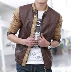Model Jaket Kulit Pria; Kode: A-035