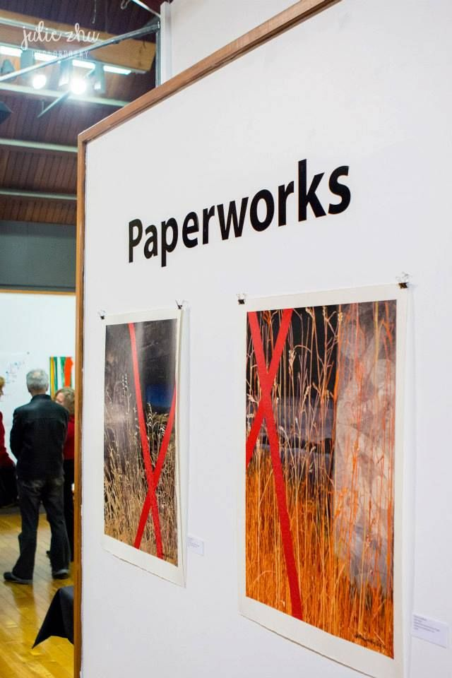 Paperworks an exhibition by members of ASATA