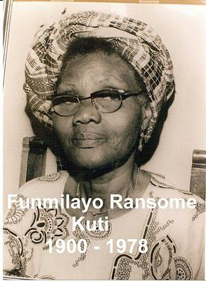 "Funmilayo Ransome-Kuti (1900-1978) [mother of Fela Kuti] was a Nigerian feminist who fought for suffrage and equal rights for her countrywomen long before the second wave of the women's movement in the United States. She also joined the struggle for Nigerian independence as an activist in the anti-colonial movement. Described by many as the mother of women's rights in Nigeria, she was regarded in her time as ""The Mother of Africa."