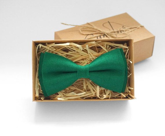 Packaged in a gift box!! • Material - 100% Linen. • Handmade. • All bow ties are pre-tied, bilayer. • All bow ties equipped with an adjustable strap, made of the same color and material as the bow tie. • The order may take from 1 to 3 days to be made and send . • All local and international shipments are sent by registered air mail and have a tracking number. We also provide express shipping. • WEDDING ORDERS: Please contact us if ordering more than four ties to assure we can meet your…