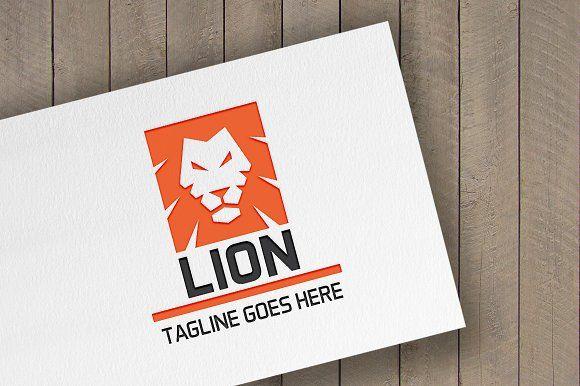 Lion Logo by tkent on @creativemarket