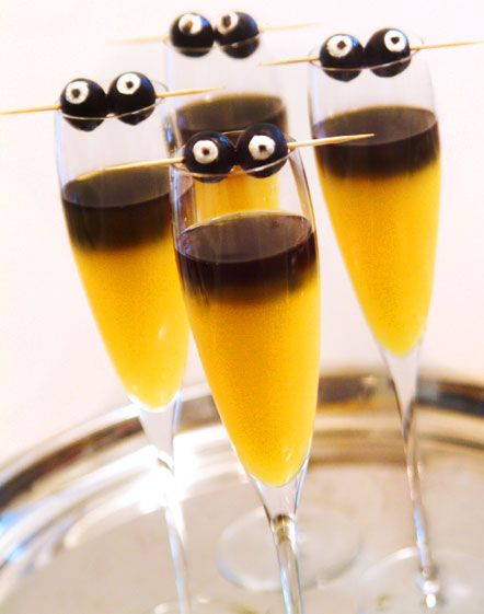 Silly/Sophisticated Halloween Cocktails - Blog - Home entertaining and party planning ideas from a Chicago hostess