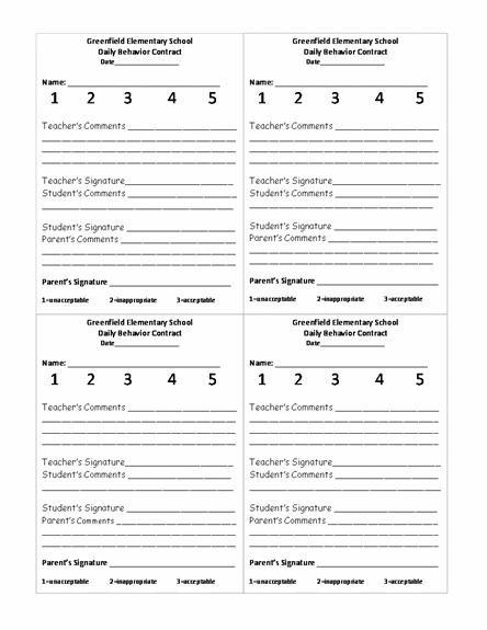 The 25+ best Behavior report ideas on Pinterest Parent contact - progress report card template