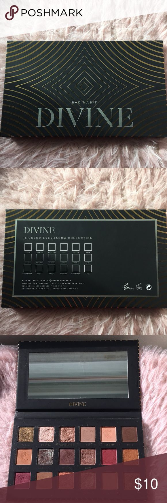 Bad Habit Divine Palette Bad Habit Divine palette. Lightly