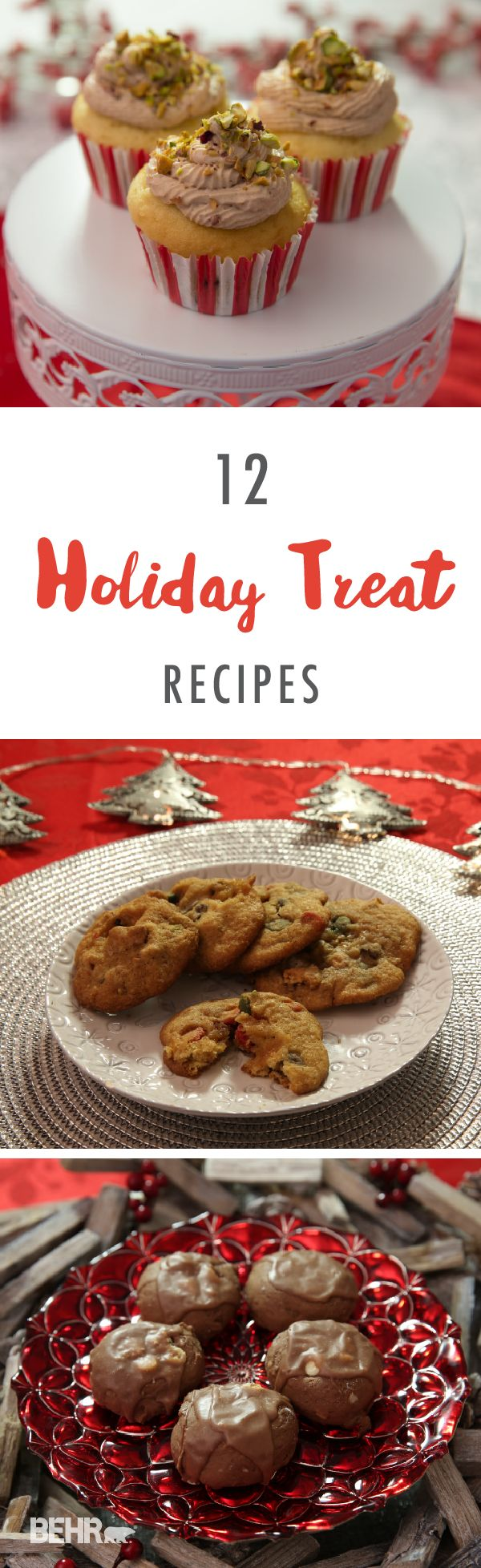 This collection of winter dessert recipes is perfect for your next holiday party. Impress your friends and family with tasty recipes like s'mores stuffed delight cookies, Italian chocolate spice cookies, and cannoli stuffed cupcakes. This holiday season, bring all of your loved ones together with food and fun times.