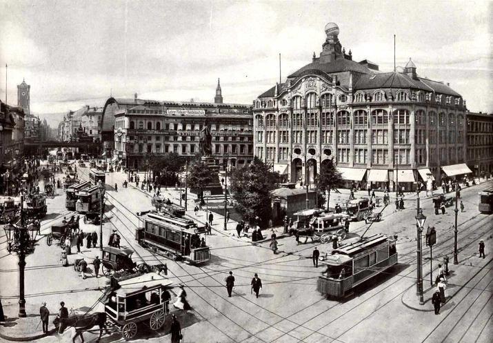 Fotostrecke: Fraktur! Die Serie mit Berlin-Bildern aus der Kaiserzeit - Bildergalerien - Mediacenter - Tagesspiegel