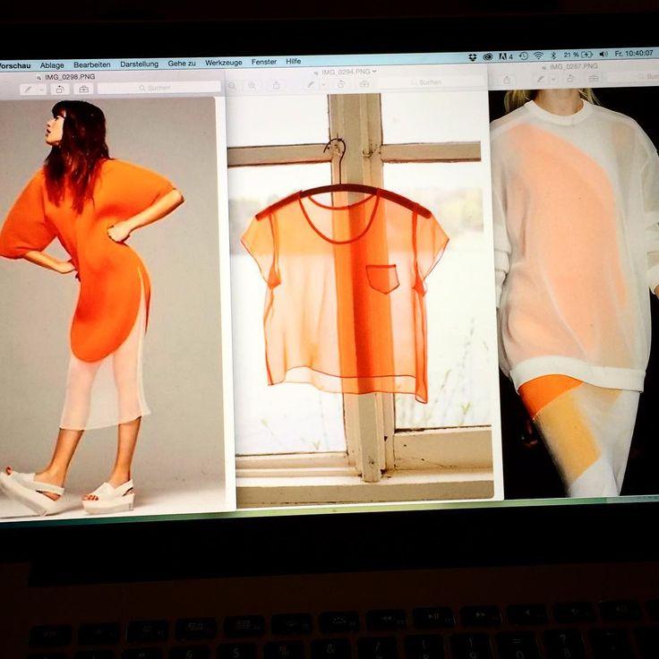 Inspiring moods - preparing my next shooting. #moods #shooting #editorial #photoshooting #photo #photography #styling #orange #mesh #fashion #mode #foto #fotografie #briefing #artdirection #karinpostert #hh #hamburg #hhcity