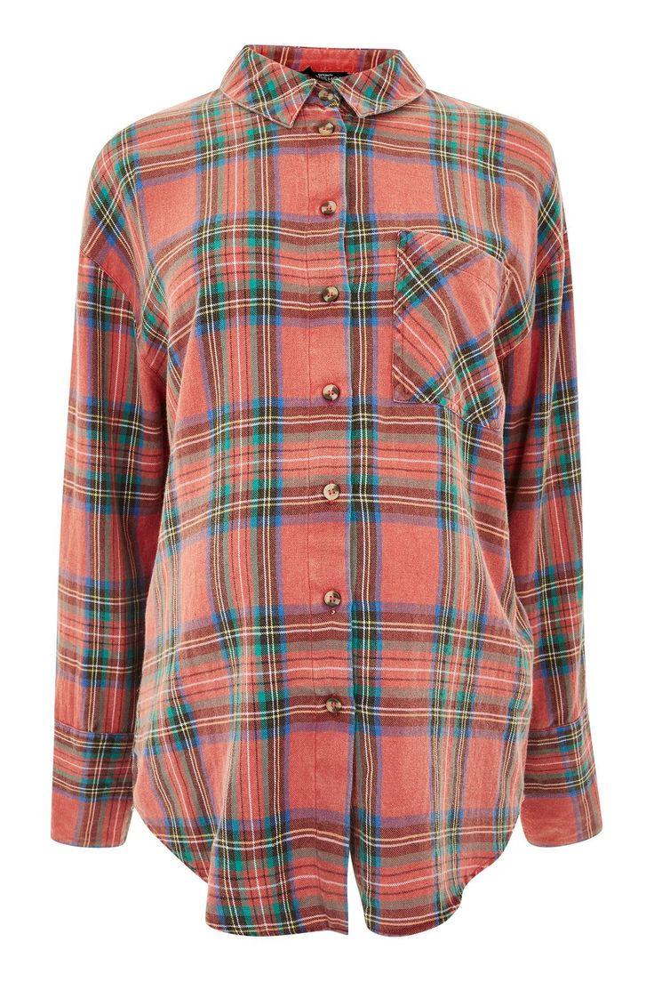 MATERNITY Tartan Checked Shirt