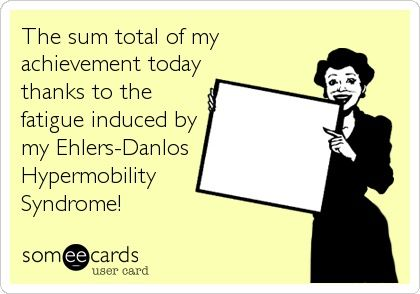 Hahaha! Thank God it's the weekend on a holiday week! Rest up, my bendys!    #eds #pots #chronicillness ehlers danlos syndrome