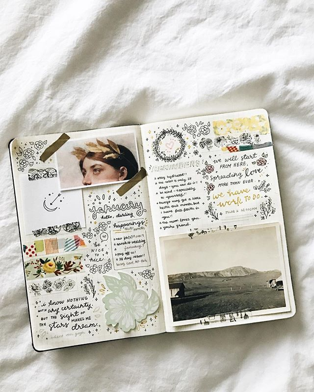 scrapbook bullet journal