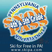4th & 5th Graders Ski for Free at #Pennsylvania ski resorts this winter!