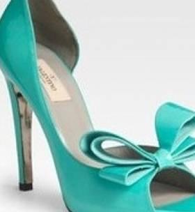 #aqua wedding shoe @Katelyn Brasesco These are ALL you!!