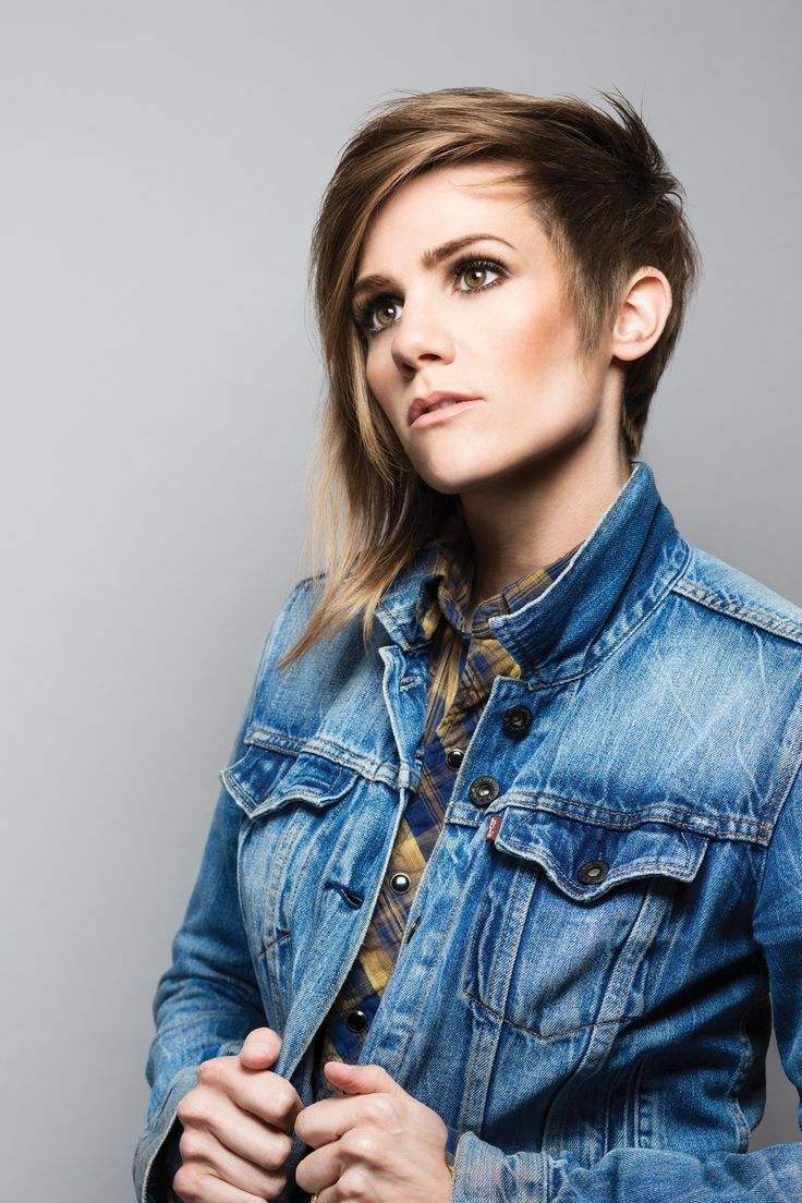 Cameron Esposito and her beautiful, beautiful hair.