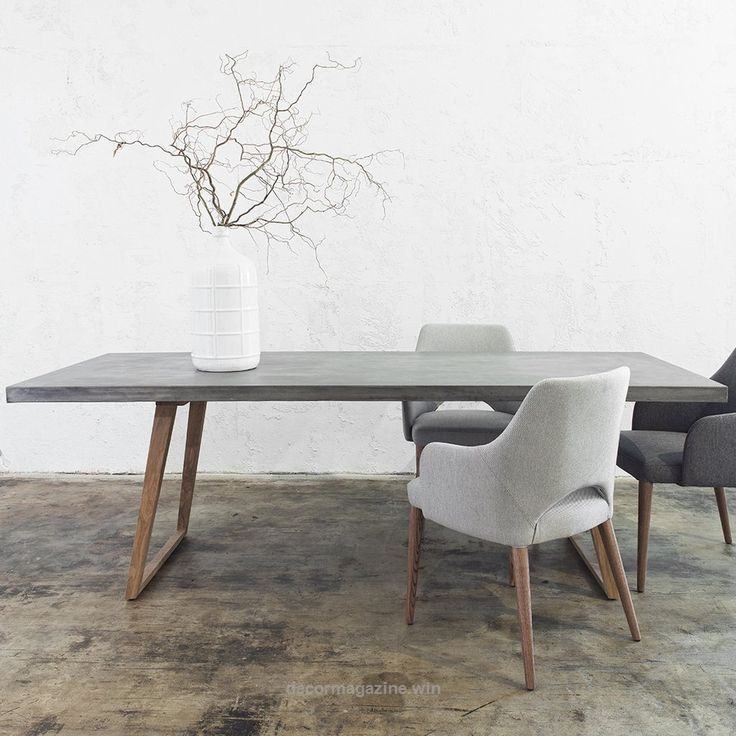 Outstanding How To Match Dining Chairs With A Designer Table / dining chairs, dining room, interior design #diningchairs #diningroom #modernchairs For more inspiration, visit: m ..