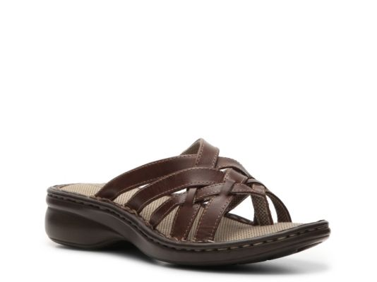 Women's Eastland Lila Wedge Sandal - Brown