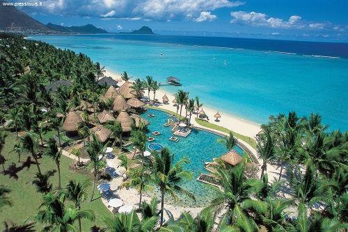Wolmar Beach (Wolmar Flic-en-Flac Mauritius): stupenda spiaggia di sabbia bianca