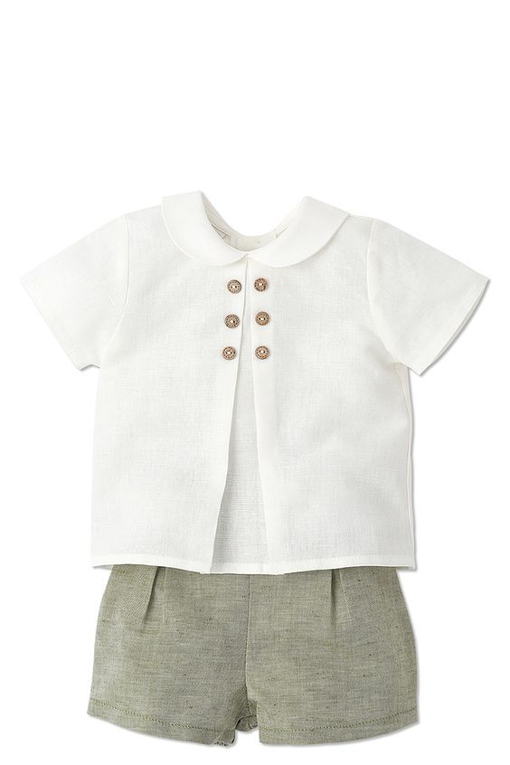PAZ RODRIGUEZ OLIVE SHORTS FOR BABY BOYS http://www.blossommotherandchild.com/baby-brands/paz-rodriguez/007-45272: