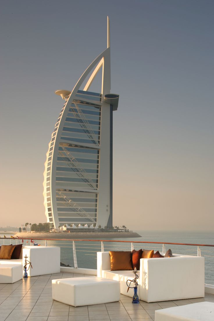 Virginia Duran Blog- 10 Sites To Take The Best Skyline Pictures in Dubai- Burj Al Arab from 360 Rooftop