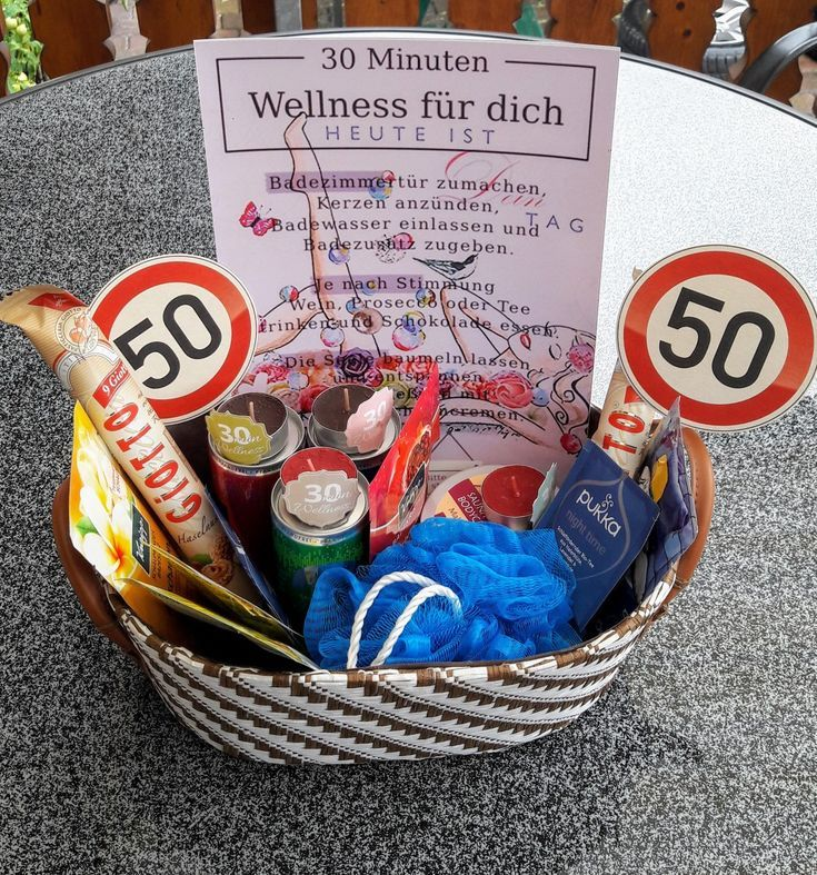 30 Minuten Wellness Geschenk Fur 50 Geburtstagsfrau Fur