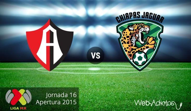 Atlas vs Jaguares, Jornada 16 del Apertura 2015 ¡En vivo por internet! - http://webadictos.com/2015/11/07/atlas-vs-jaguares-apertura-2015/?utm_source=PN&utm_medium=Pinterest&utm_campaign=PN%2Bposts