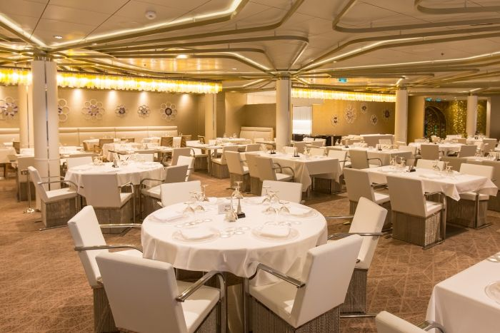 Chic Restaurant aboard Anthem of the Seas - Cruise News Daily ...