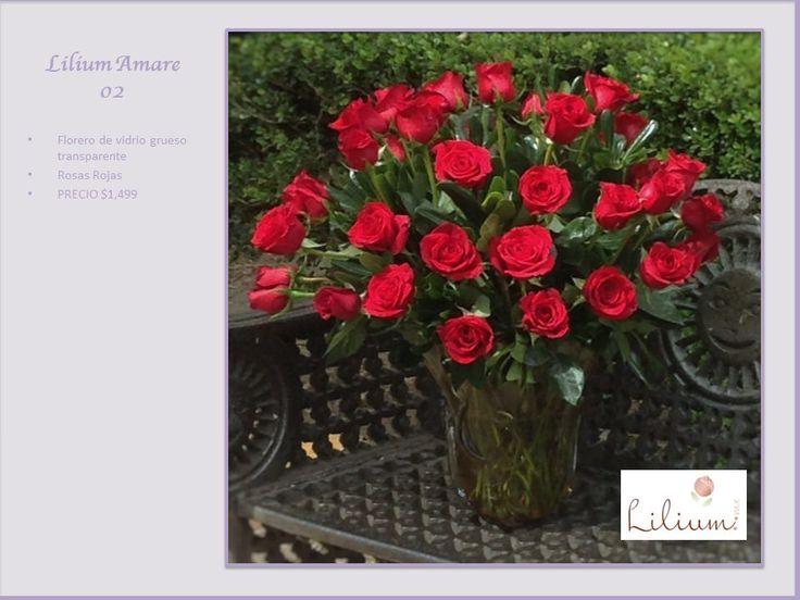 """LAS MEJORES FLORES DOMICILIO. Una rosa siempre dice algo… sin embargo, cada color expresa un sentimiento diferente. En las rosas rojas el significado es: """"amor y pasión"""". Envíale el más hermoso diseño floral para decirle """"te amo"""" a esa persona única en tu vida. En Lilium, contamos con hermosos arreglos elaborados con rosas frescas y colores hermosos, le invitamos a ingresar a nuestra página de internet www.lilium.mx, para elegir el arreglo exprese sus sentimientos."""