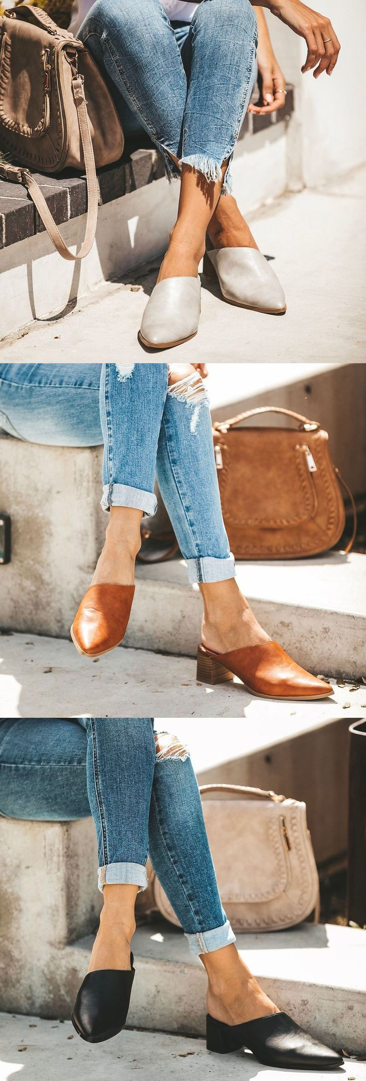 SHOP NOW>>$39.99 SALE! Women Fashion Plus Size Heel Flats 2