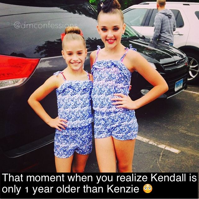 Kendall is tall! OMG lol!