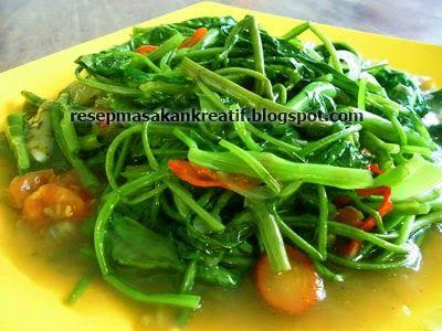 Resep Tumis Kangkung Saus Tiram | Resep Masakan Indonesia (Indonesian Food Recipes)