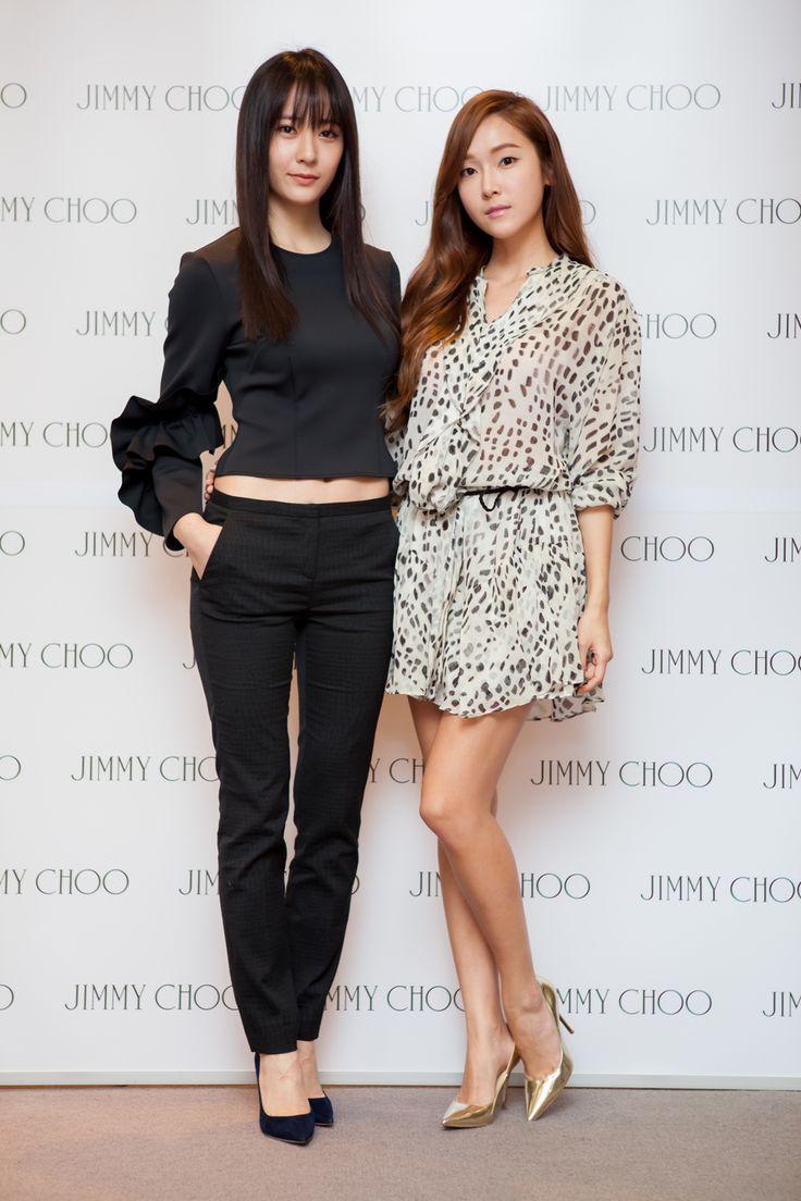 Fx Krystal and SNSD Jessica