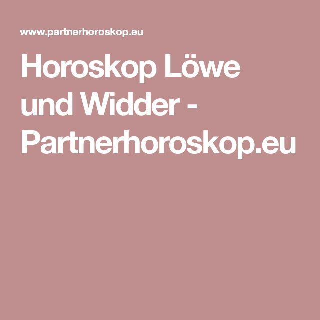 partnerhoroskop widder löwe