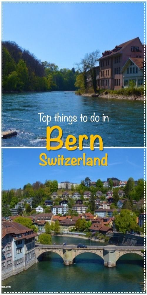 A tour to Bern, Switzerland. Find out the top things to do in Bern. Travel in Europe.