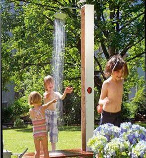Gartendusche zum Nachbauen