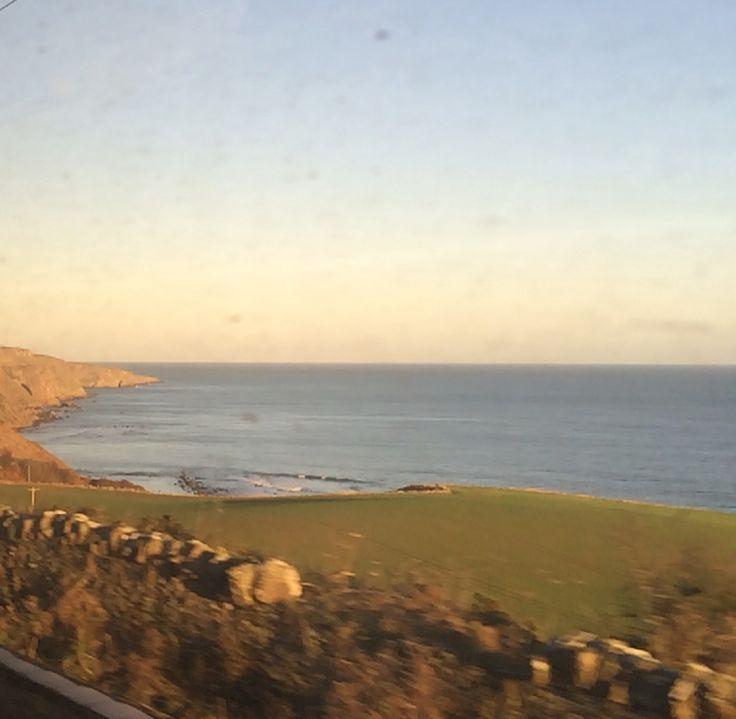 The North Sea welcome to Scotland