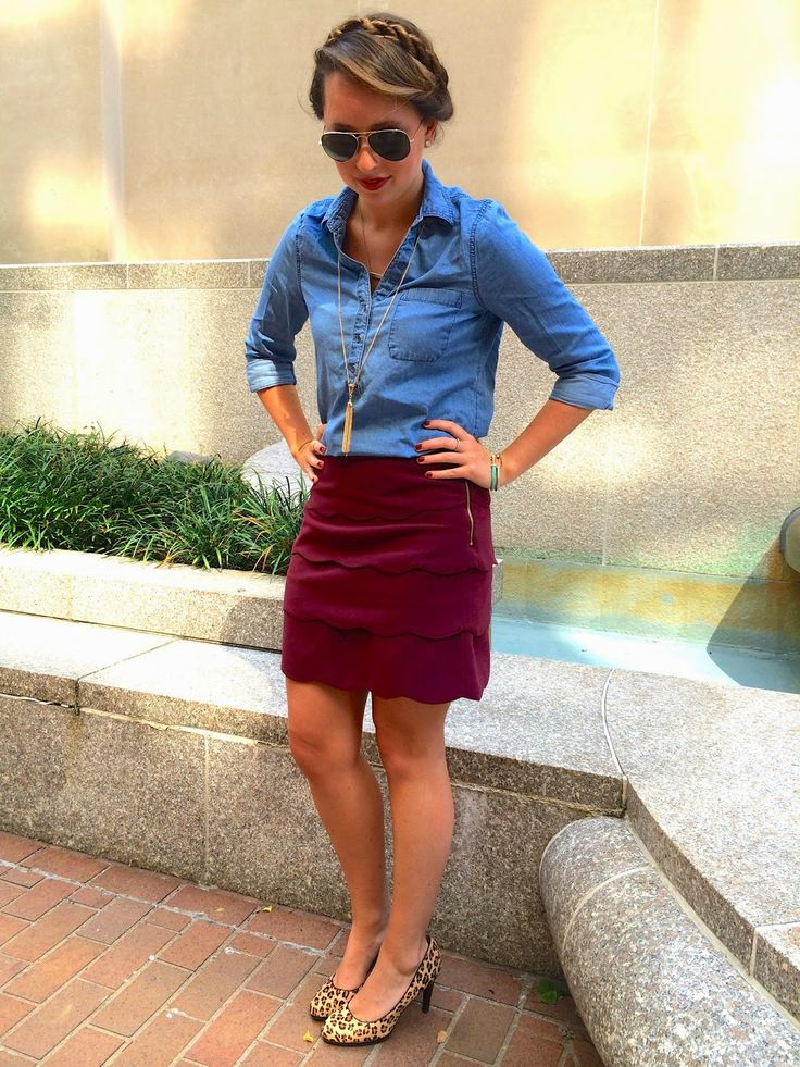 Southern Anchors: {fall work wear}