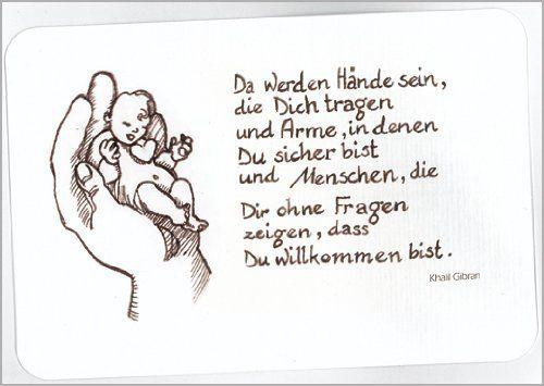 wunderschöne Babykarte: Da werden Hände sein... auch als Tauf Karte von Kartenkaufrausch, http://www.amazon.de/dp/B004W7F7U0/ref=cm_sw_r_pi_dp_FWZmtb007TYB5