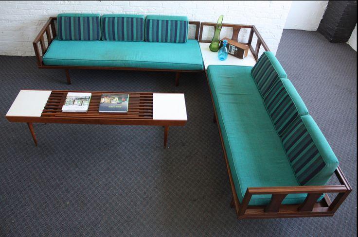 Vintage Mid-Century Modern Day bed