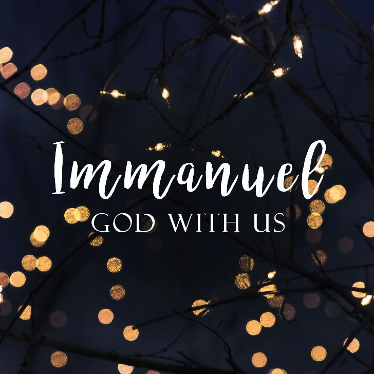 christmas lights, god with us, immanuel, jesus, bible, love, quote